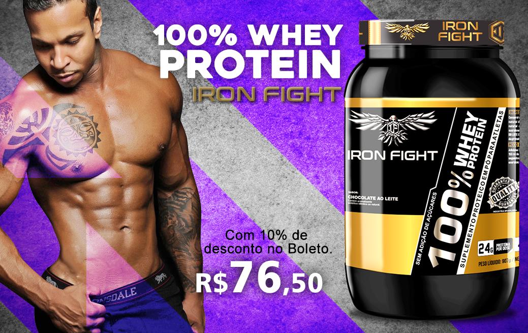100% whey protein para shake maromba
